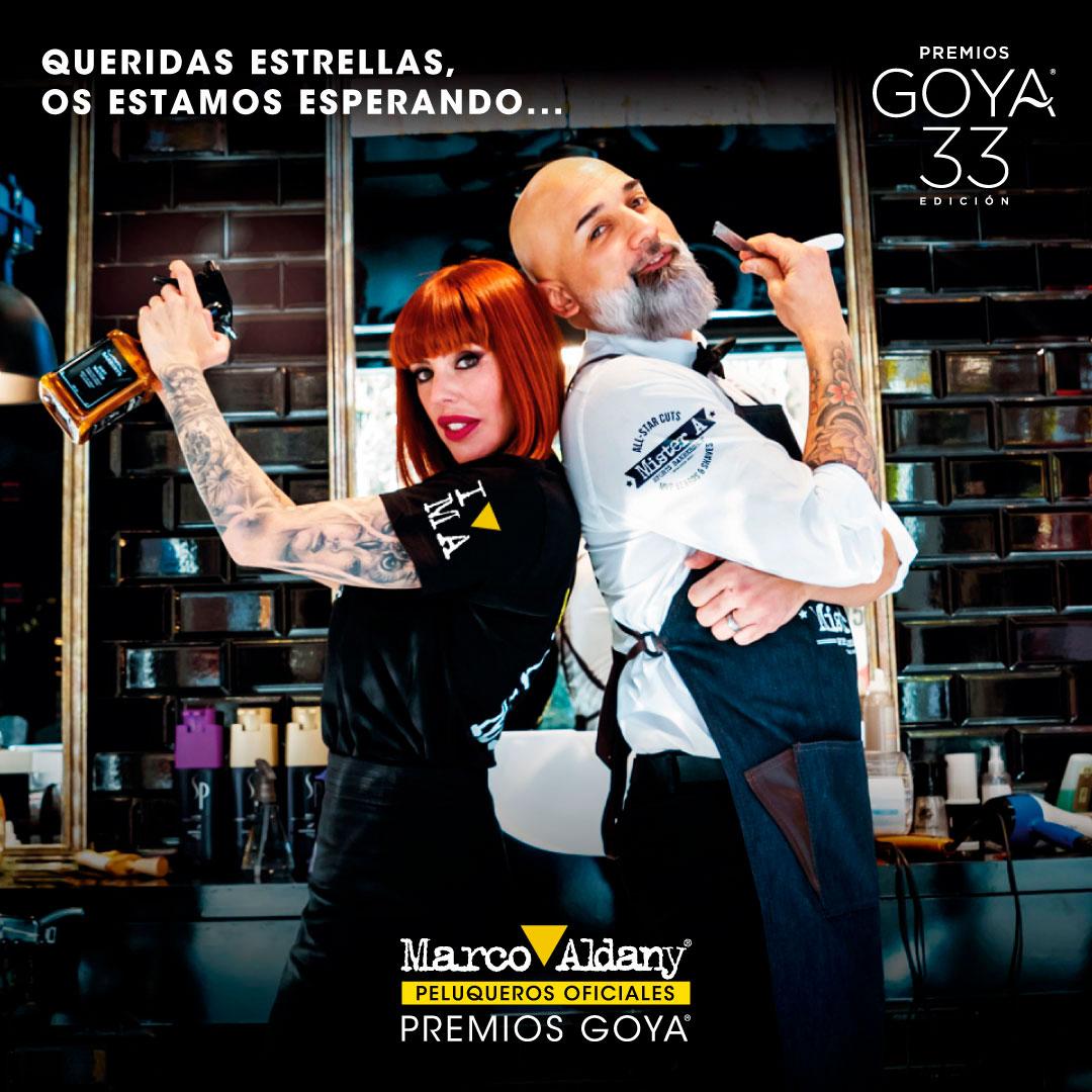 Marco Aldany Premios Goya 2019