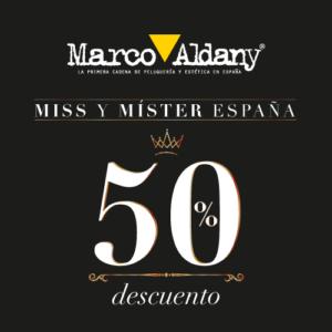 MISS Y MISTER ESPAÑA 2020 –  50% dto servicio peluqueria